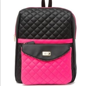BETSY JOHNSON backpack with detachable bag